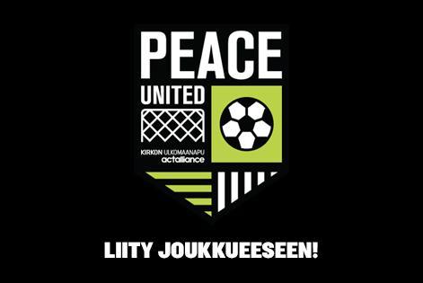 Peace United. Liity joukkueeseen.