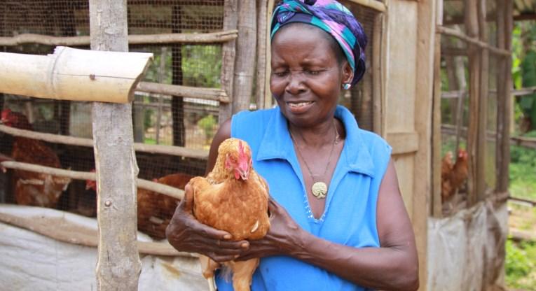 Liberialainen Kaymah sai kanoja