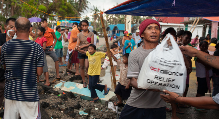 Humanitarian assistance in the Philippines