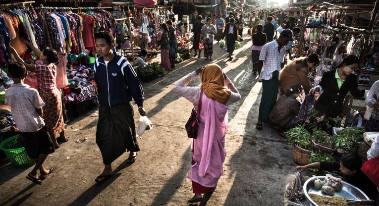 myanmar EU CHildren of Peace Initiative