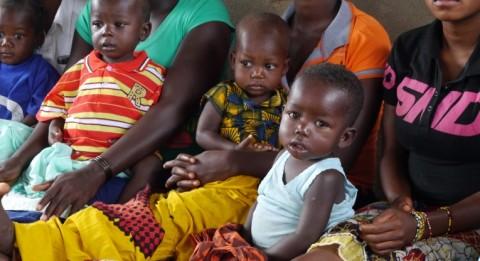 Neljäkymmentä lasta on päivähoidossa koulun yhteyteen perustetussa päivähoitopaikassa. Kuva: Jari Kivelä