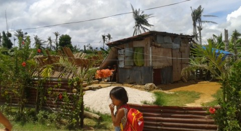People in the disaster area have been able to repair or rebuild their home strong enough against rainfall.