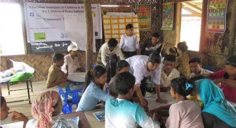 The teachers' training had six intence days of training. Photo: LWF Sittwe-team.