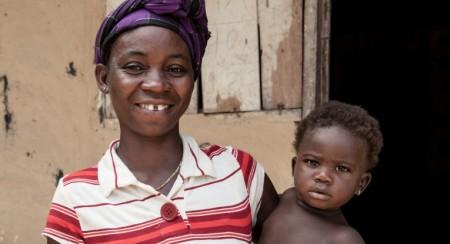 Työn tuloksia Liberia