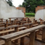 School rehabilitation in progress in Bouar in the beginning of July. Photo: FCA
