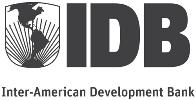 The Inter-American Development Bank logo