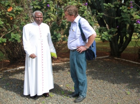 Eldoret's bishop Cornelius Korir started peace work in  Turkana and  Pokot last year's December.  The advisor for Foreign Ministry  Kimmo Kiljunen has studied the concept of war and peace in  different contexts around the world.
