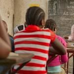 Utbildning är ett Utlandshjälpens tyngdpunktsområden. I Kongo får för detta barnsoldater yrkesutbildning. Bild: Ville Asikainen