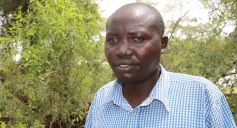 David Ngoriaita kuului ennen varastavien sotureiden joukkoon. Nyt hän tekee rauhan työtä ja haaveilee rauhan keskuksesta syrjäiseen Songokiin.