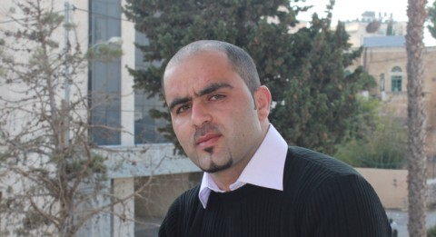 Wael Amro osallistui kansalaisoikeus-kurssille Ramallahissa.