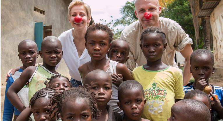 Rakel Liekki ja Juha Tapio vierailivat Kirkon ulkomaanavun hankkeissa Sierra Leonesssa kesäkuussa. Kuva Juha Blomberg.