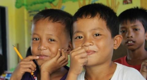 Avustustyö Filippiineillä