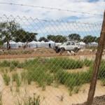 Avustusjärjestön tarjoama teltta on kymmenientuhansien Etelä-Sudanin sisäisten pakolaisten koti Mingamanissa.