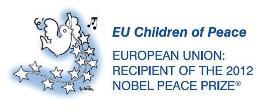 EU Children of Peace logo-pieni