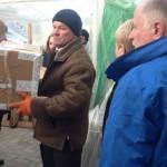 ACT-allianssin jäsen, Unkarin kirkkojenvälinen apu, toimitti lääketieteellistä apua St. Michaelin hätäsairaalaksi muutetulle luostarille helmikuussa 2014. Kuva: ACT/HIA.