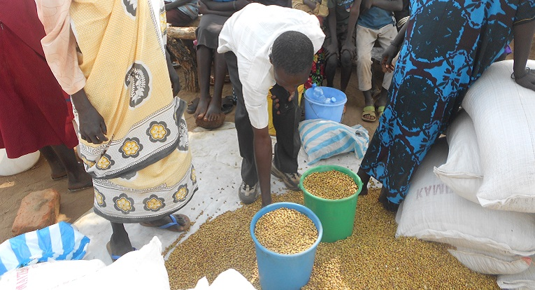 Etelä-Sudan on pitkään kärsinyt vakavasta ruokapulasta. Kuva: Kirkon Ulkomaanapu.