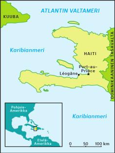 Haitin kartta