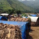 Shashan pakolaisleiri Itä-Kongossa.