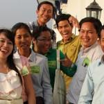 Kambodzan laatuaan ensimmäinen opokoulutus käynnistyi innostuneissa tunnelmissa. Kolmen päivän jaksoissa toteutettavaan koulutukseen valittiin kymmenen Battambangin alueen opettajaa viidestä eri koulusta.
