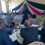 All the important political players took part in the peace negotiations between the Pokot and Turkana tribes. The participants included senators, governors, Members of Parliament, local politicians and officials. The Kenyan media also followed the meeting closely. Photo: Ruth Wamugi.