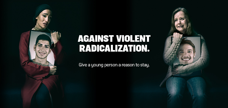 Against violent radicalization.