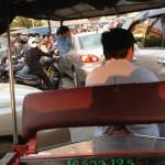 Aamuruuhka Phnom Penhissä.