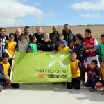 Zaatrin pakolaisleirin Peace United-joukkue