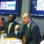Alexander Marc Maailmanpankista kertoi omista kokemuksistaan väkivaltaisen ekstremismin estämiseksi. Kuva: ritka Heino.
