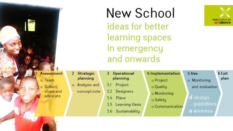New school - step by step