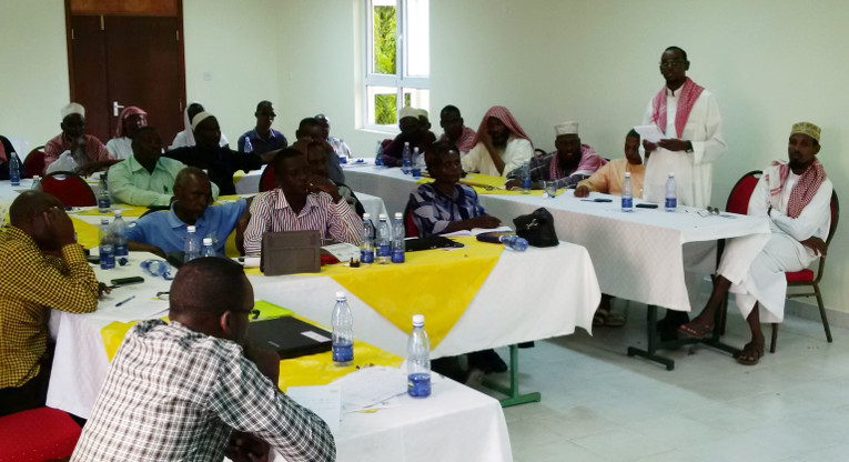 Together with the Supreme Council of Kenya Muslims (SUPKEM), Council of Imams and Muslim Preachers of Kenya (CIPK) and Garissa Pastors Fellowship in Garissa County, FCA in Garissa brought together 33 religious leaders.