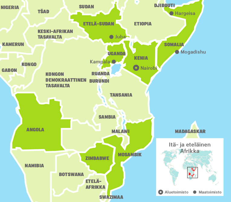 Ita Ja Etelainen Afrikka Kirkon Ulkomaanapu