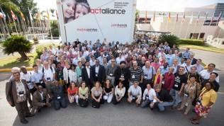 ACT-allianssin toinen yleiskokous Punta Canassa Dominikaanisessa tasavallassa lokakuussa 2014. Kuva: ACT/PWRDF/Simon Chambers