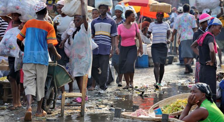 Valtava maahanmuuttajien aalto aiheuttaisi vakavia ongelmia Haitille, joka on yksi mailman haavoittuvimmista maista. Kuva: Paul Jeffrey