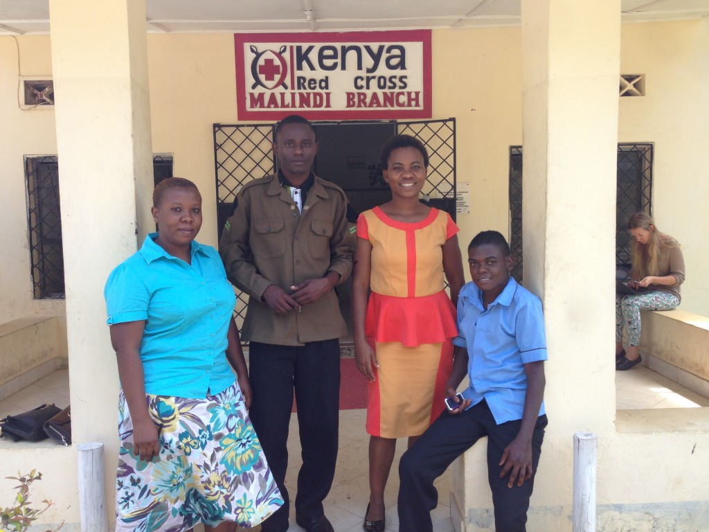 Faith Kemunto, Ramson Kaazungu, Lucky Mbaga, and Daniel Fondo participated in the youth dialogue in Malindi on Kenya´s cost. They underlined the importance of listening and taking in consideration the voice and needs for the youth. Photo: Aaron Stanley