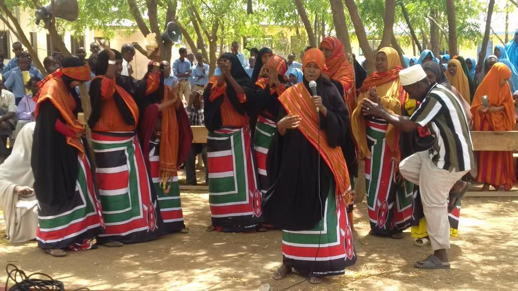 Peace Day celebration in Garissa.