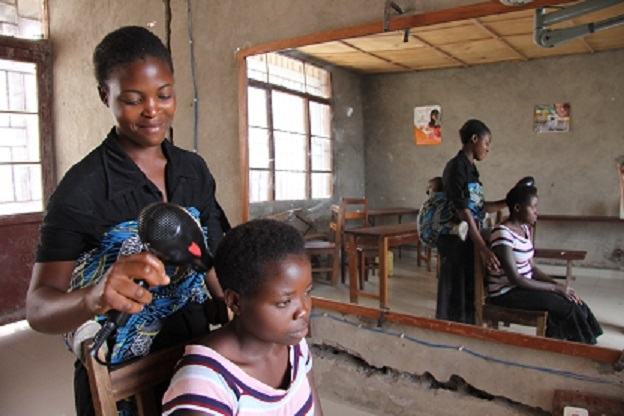 Finn Church Aid operations in the Democratic Republic of the Congo will shut down next year. In DR Congo, FCA has, for example, supported professional training for former child soldiers and homeless children. Photo: Tuuli Hongisto