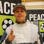 Särre Peace United -musiikkivideon lanseeraustilaisuudessa syyskuussa.