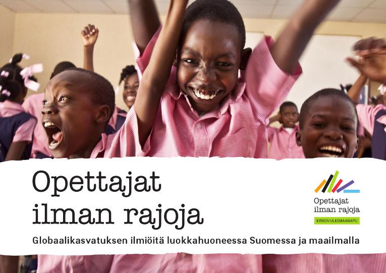 Globaalikasvatuksen ilmiöitä luokkahuoneessa Suomessa ja maailmalla -kansikuva