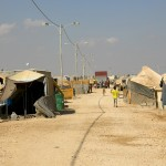 Zaatarin pakolaisleiri Jordaniassa. Kuva: Karoliina Ek