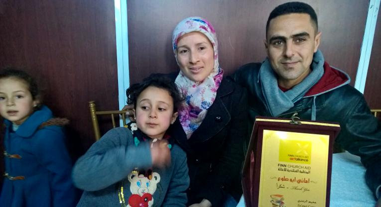 Muhammad ja Amani viimeisiä päiviä Azraqin pakolaisleirissä. Kuva: Olli Pitkänen.