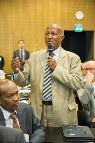 Semere Russom, Eritrean Minister of Education.