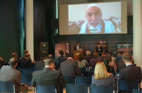 The Author of the Marrakesh declaration, Shaykh Bin Bayyah, joined the conversation via Skype