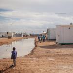 Syyrialaislapsi pakolaisleirillä Jordaniassa. Kuva: Ville Asikainen.