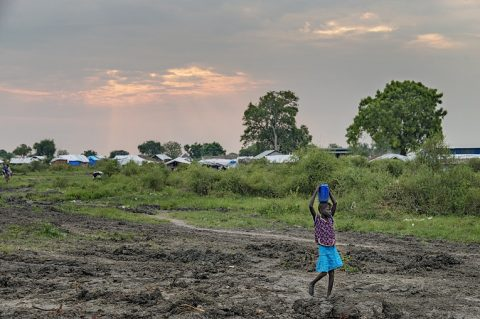 Finn Church Aid's work continues outside capital city Juba. Photo: Ville Palonen
