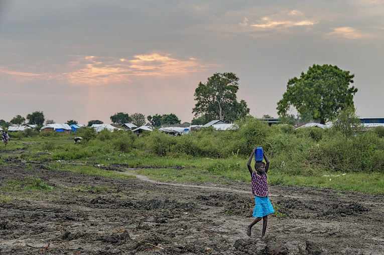 Finn Church Aid's work continues outside capital city Juba. Photo: Ville Palonen