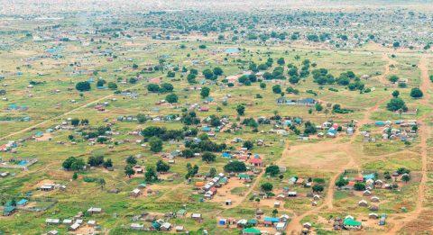 The surroundings of South Sudan's capital Juba in December 2015.