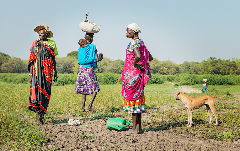 Etelä-Sudanin väkivaltaisuudet pahentavat entisestään maassa vallitsevaa ruokapulaa. Etnisten tyhmien taistelut ovat vaarassa muuttua kansanmurhaksi kuten Ruandassa 1994. Kuva: Ville Palonen
