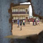 Kuvaa Kirkon Ulkomaanavun koulutusprojektista Banguissa 2014. Kuva: Catianne Tijerina