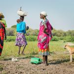 Våldsamheterna i Sydsudan förvärrar bristen på mat i landet. Striderna mellan etniska grupperingar hotar att eskalera till ett folkmord liksom det gjorde i Rwanda år 1994. Bild: Ville Palonen