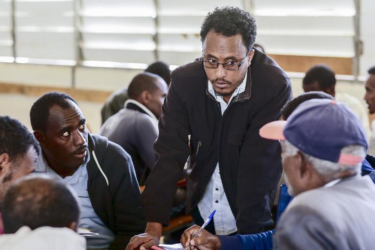 """""""Opiskelijat itsessään ovat resurssi, he tarjoavat myös minulle mahdollisuuden oppia uutta"""", toteaa Amanuel Yosief."""